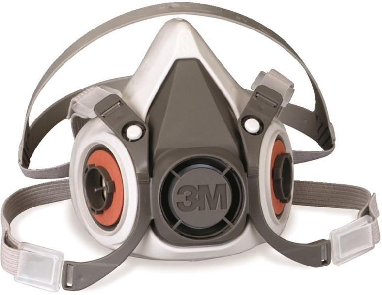 Mask Respirator 6200 Half 3m Series