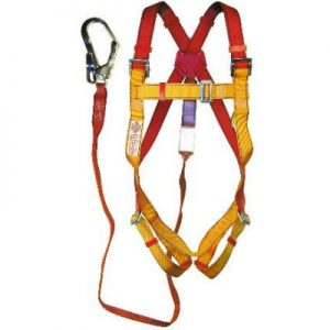 FULL BODY HARNES WITH SCAFFOLD HOOK