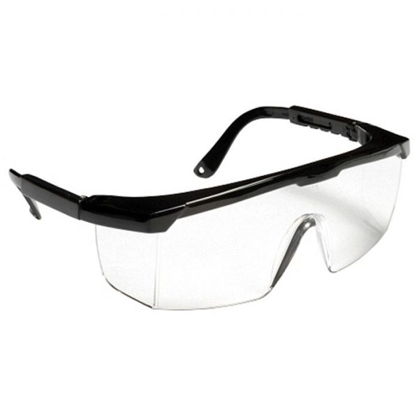 SAFETY SPECTACLE CLEAR FRAME
