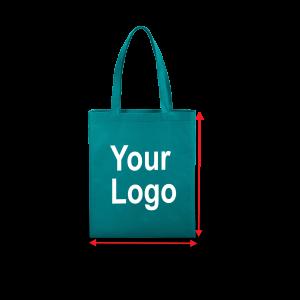 LOOP HANDLE FLAT BAG – 14″ X 16″