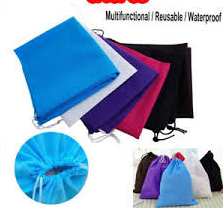 Dustamour Set of 3 Dust/Water-proof Drawstring Storage Pouch