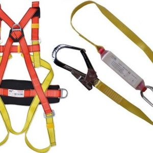 Full Body Safety Harness with Back Support